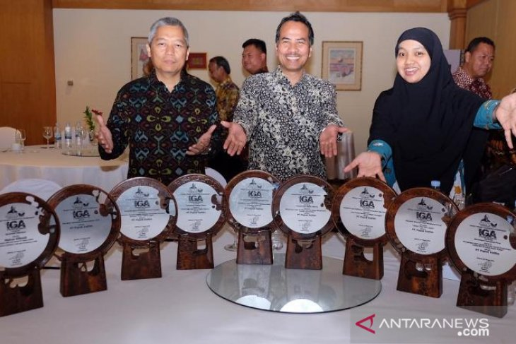 Boyong 9 Penghargaan, Pupuk Kaltim Raih The Best Indonesia Green Award 2019