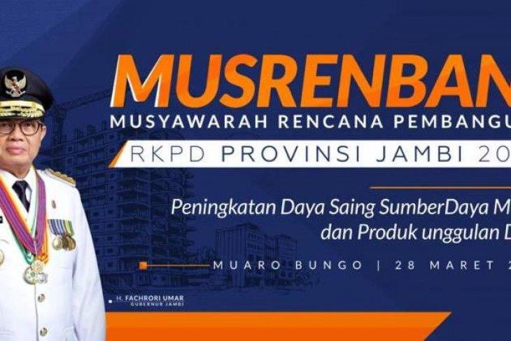 Pemprov: Musrenbang tingkat provinsi di kabupaten dorong pergerakan ekonomi