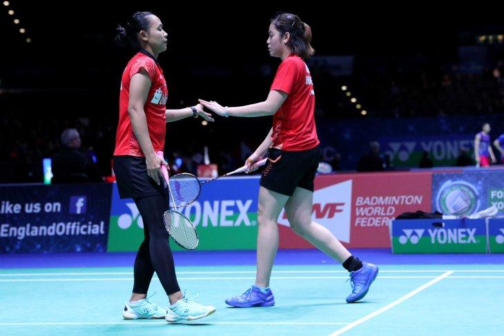 Pasangan ganda putri Indonesia Greysia Polii/Apriyani Rahayu juarai India Open 2019