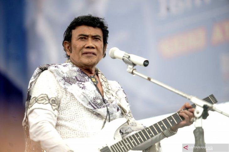 Raja Dangdut Rhoma Irama ciptakan lagu Virus Corona