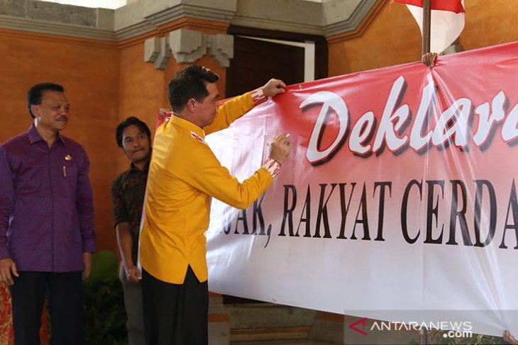 Gubernur Bali minta media tingkatkan literasi informasi kepada masyarakat