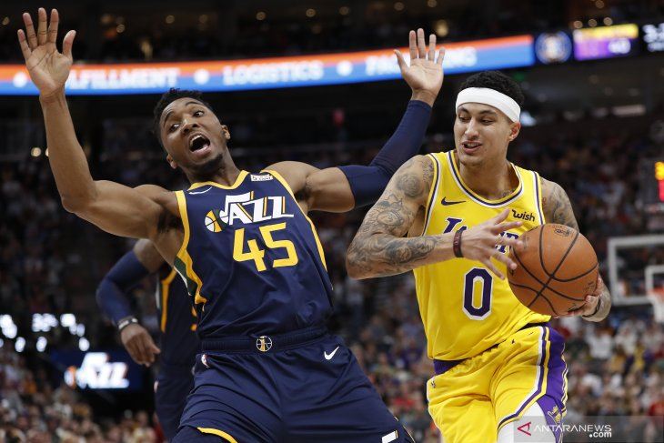 Membukan NBA, Kuzma absen saat Lakers hadapi Clippers