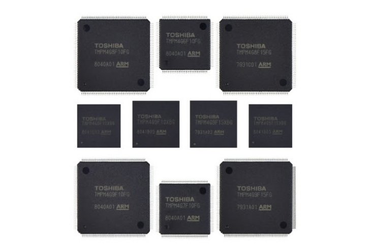 Toshiba's Arm® Cortex®-M4-based microcontrollers with built-in timers and communication channels achieve high-speed data processing