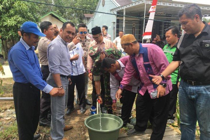 Warga Desa Sebamban bisa nikmati air bersih
