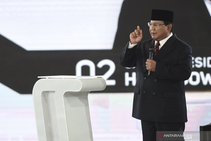 Prabowo Subianto pledges to uphold Pancasila till last drop of blood