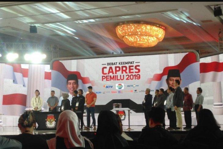 KPU gelar gladi bersih jelang debat keempat Pilpres 2019