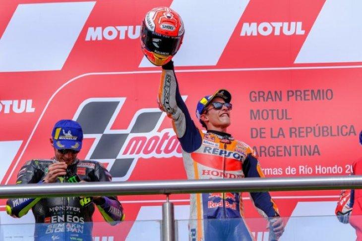 Hasil GP Argentina, Marquez puncaki klasemen usai tampil dominan
