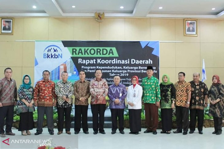 Rakorda 2019, BKKBN Bengkulu genjot program KKBPK 2019