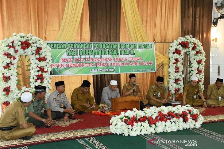 PGRI Persatuan Cabang Kandangan gelar peringatan Isra Mi'raj
