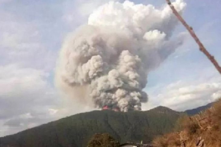 Korban tewas akibat kebakaran hutan jadi 30 orang di China