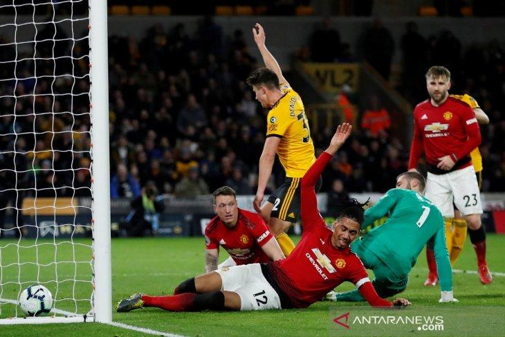 Manchester United keok di markas Wolverhampton