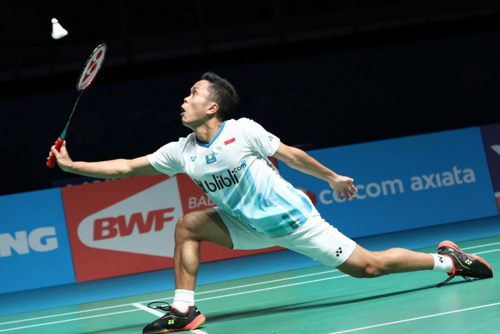 Ginting gagal ke babak dua Malaysia Open 2019