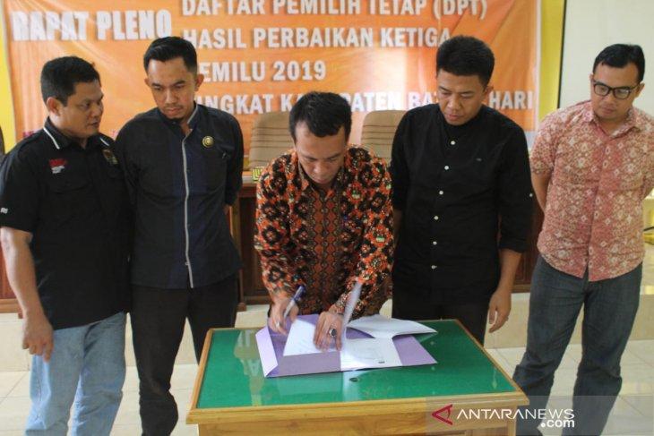 KPU Batanghari tetapkan DPTHP 3
