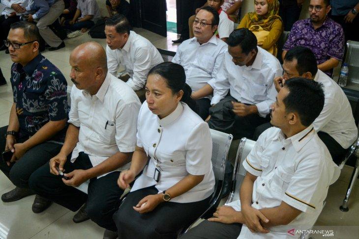 Sidang putusan kasus suap DPRD Kota Malang