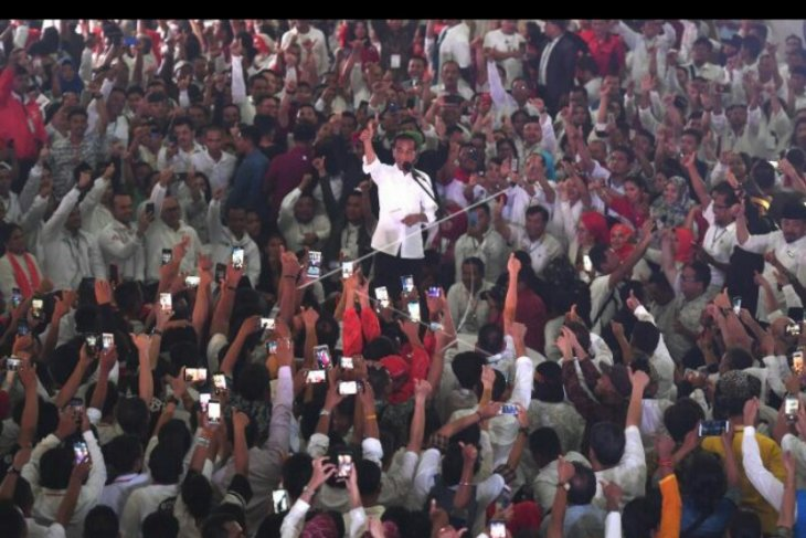 Jokowi berkeyakinan raih 65 persen suara di Sumut.