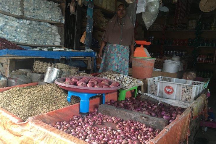 Harga bawang merah naik di Nagan Raya