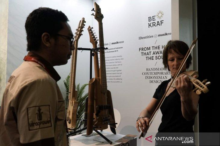 Paviliun Indonesia diminati  pengunjung MusikMesse Frankfurt 2019