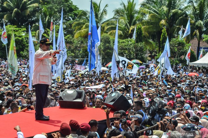 Prabowo committed to realizing a corruption-free government