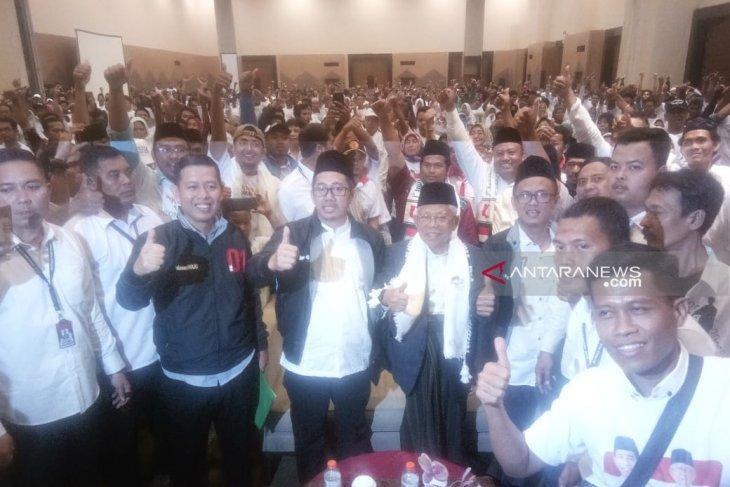 Jaringan Muda Mathlaul Anwar deklarasikan dukung KH Ma'ruf Amin