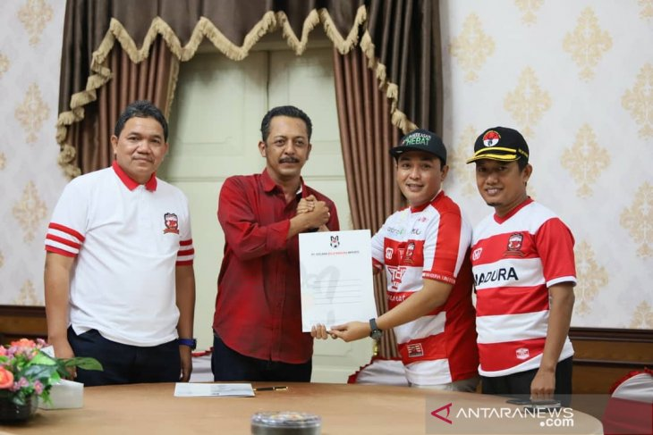 Manajemen Madura United kelola Stadion Pamekasan