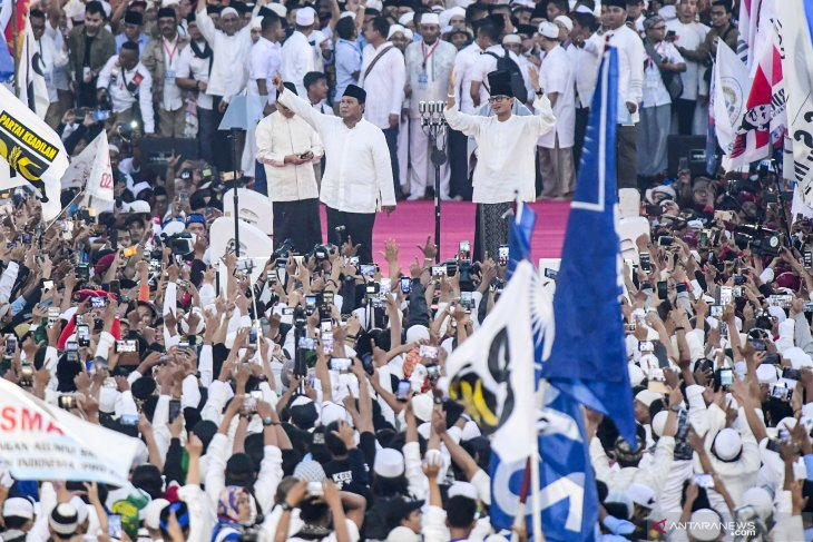Prabowo optimistic of winning presidential election