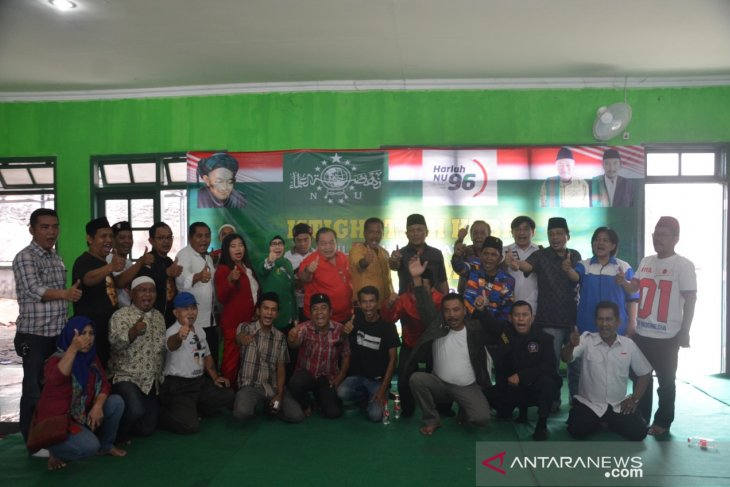 Puluhan ribu pendukung Jokowi-Ma'ruf akan memadati Stadion Karawang
