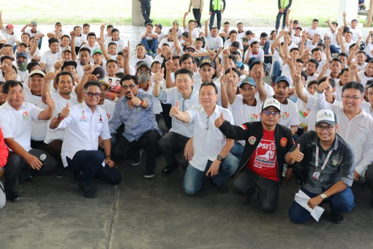 Timses Jokowi bertemu pekerja Sidoarjo