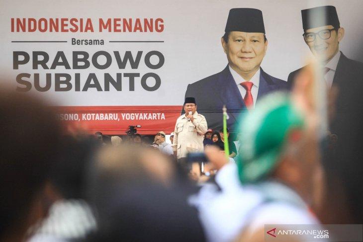 Tidak peroleh izin, kampanye Prabowo-Sandi di semarang batal