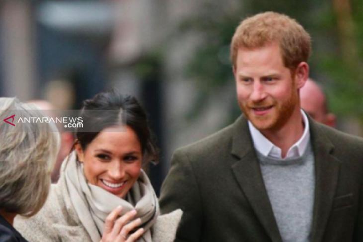Meghan Markle dan Pangeran Harry terima ratusan kado untuk calon bayi