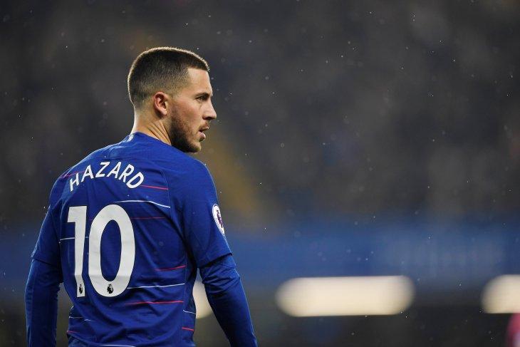 Profil Eden Hazard Gelandang Serang Real Madrid