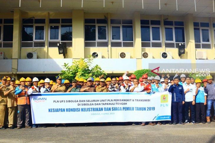 UP3 PLN Sibolga gelar apel siaga sukseskan Pemilu 2019 bersama Wali Kota