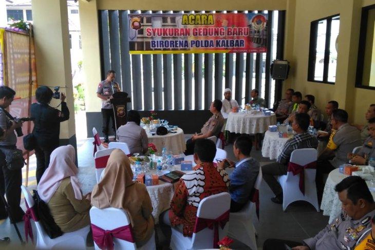 Kapolda Kalbar: akhir 2019 Polres Kubu Raya tempati gedung Pramuka