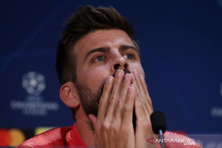 Pique buka peluang untuk membela timnas Spanyol di Olimpiade