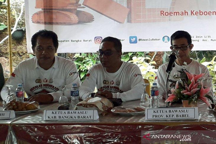 Bawaslu Bangka Barat siapkan tiga tim patroli pengawasan masa tenang Pemilu 2019