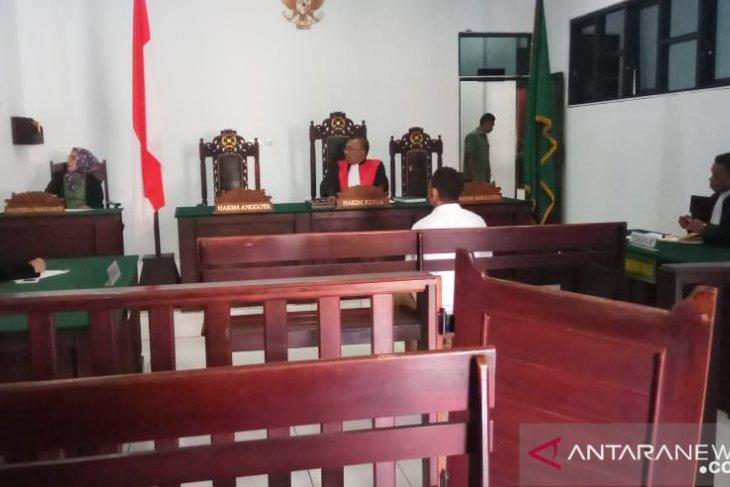 Penjemput 8357 gram sabu jalani persidangan di PN Ambon