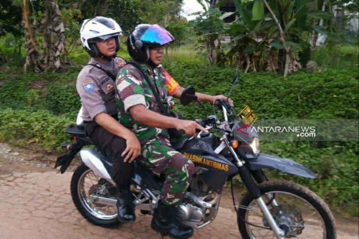 Polsek Pemali gelar patroli jaga keamanan pemilu (Video)