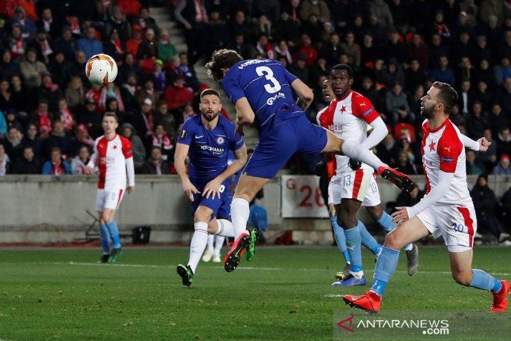 Chelsea menang di kandang Slavia Praha 1-0