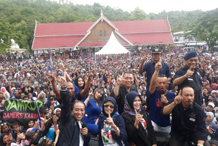 Thousand Donggala residents ready to make Jokowi-Ma'ruf victorious