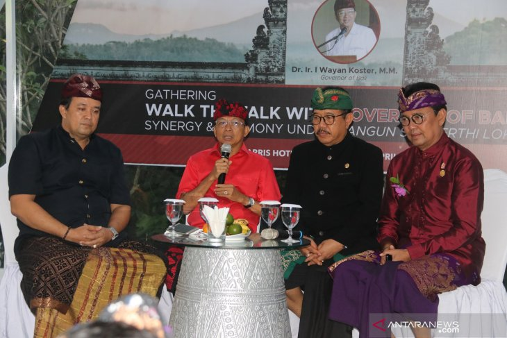 Koster: jaga Bali sebagai