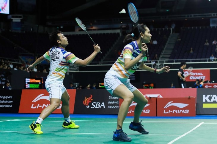 Dua ganda campuran Indonesia ke perempat final Selandia Baru