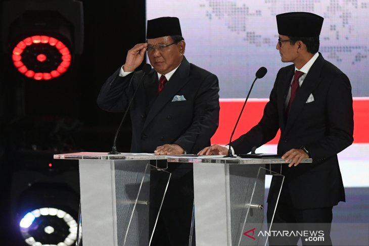 Subianto-Uno pair vows to strive for food and energy self-sufficency