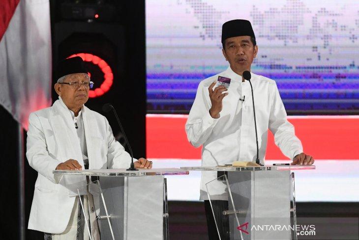 Jokowi-Ma'ruf pair prepares three cards to promote social welfare