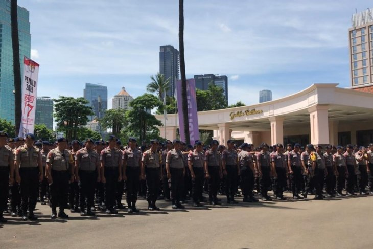 Deployment of nearly 2,673 personnel to safeguard presidential debate