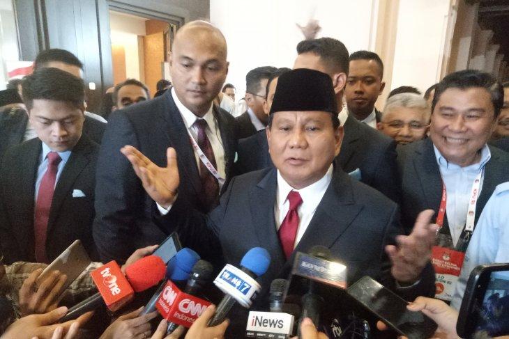 Prabowo imbau masyarakat  datang ke TPS