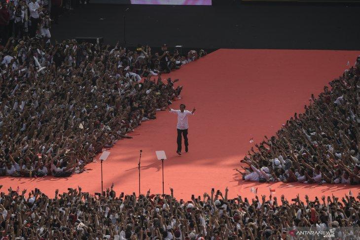 Jokowi, Amin voice full dedication to advancing Indonesia