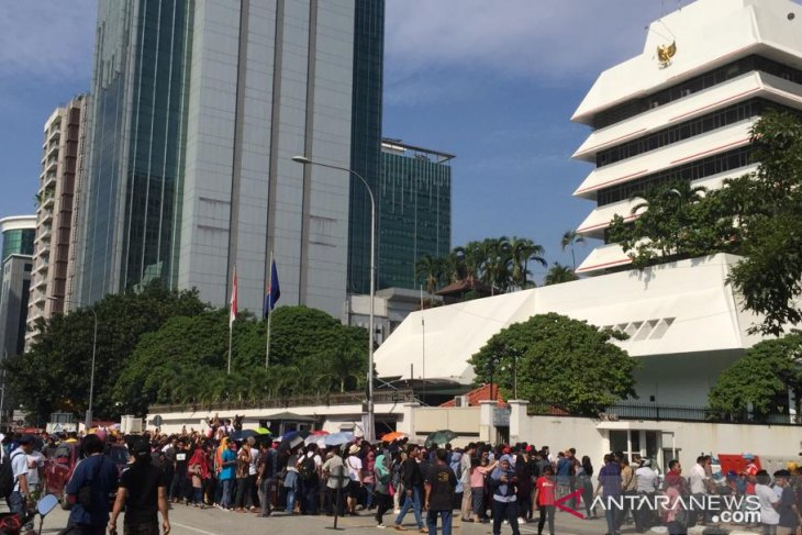 Partisipasi pemilih WNI di Kuala Lumpur meningkat.