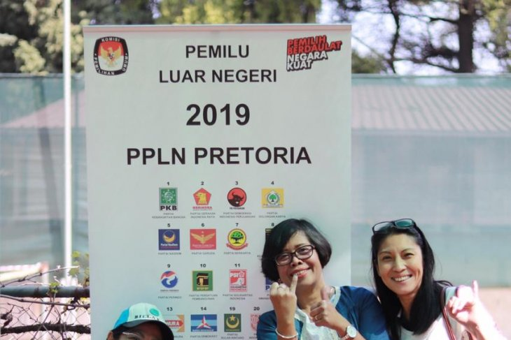 Several hundred Indonesians in Africa cast vote in 2019 elections