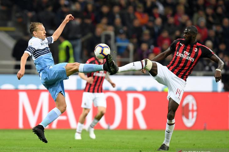 Lazio lolos hukuman terkait pelecehan rasial ketika berlaga di San Siro