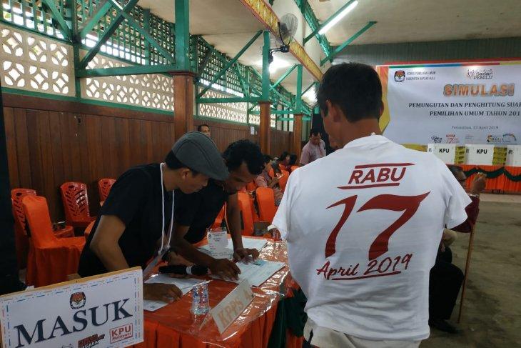 Posko Pemilu di perbatasan Indonesia - Malaysia siapkan dapur umum