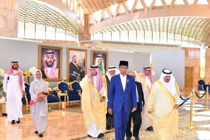 Presiden Jokowi dijadwalkan temui Raja Salman
